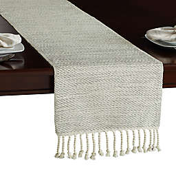 Winter Wonderland Table Runner in Silver