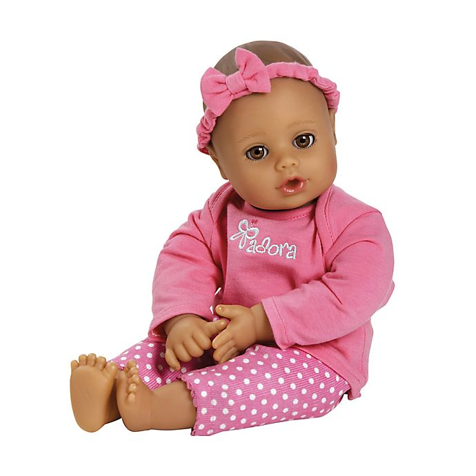 Alternate image 1 for Adora 13-Inch PlayTime Baby Girl Doll in Pink