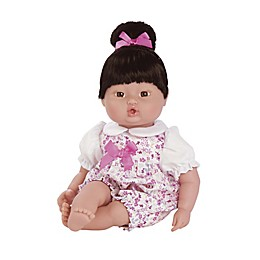 Adora® 13-Inch PlayTime™ Brunette Doll with Floral Romper