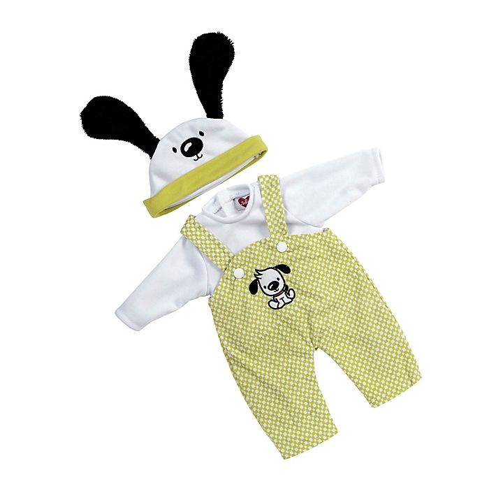 Alternate image 1 for Adora® PlayTime™ Puppy Play Overalls Baby Outfit for 13-Inch Doll