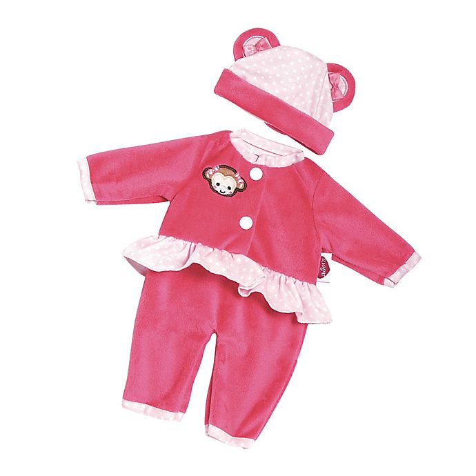 Alternate image 1 for Adora® PlayTime™ Monkey Baby Outfit for 13-Inch Doll in Pink