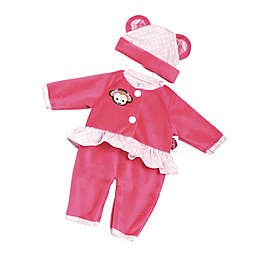 Adora® PlayTime™ Monkey Baby Outfit for 13-Inch Doll in Pink