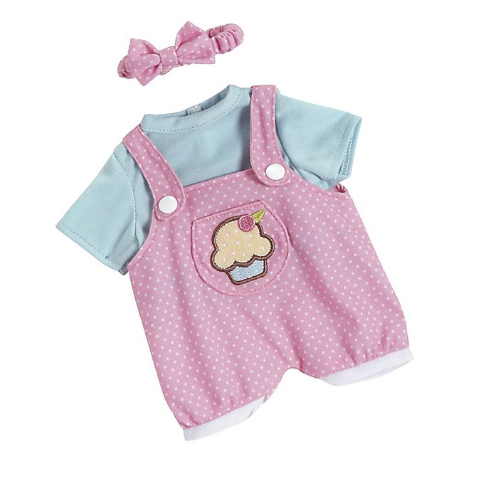 Alternate image 1 for Adora® PlayTime™ Cupcake Jumper Baby Outfit for 13-Inch Doll