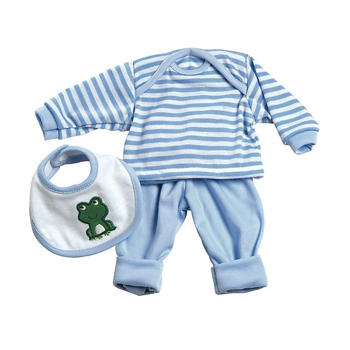 Alternate image 1 for Adora® PlayTime™ Frog Baby Outfit for 13-Inch Doll