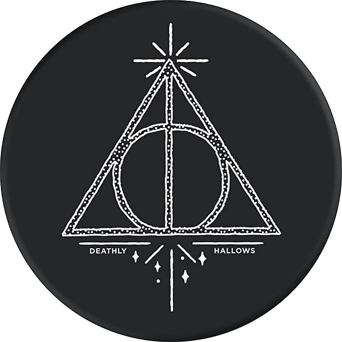 Alternate image 1 for PopSockets Deathly Hallows Collapsible Phone Grip and Stand