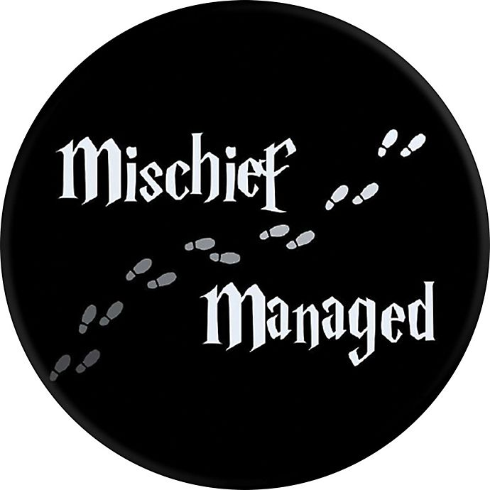 Alternate image 1 for PopSockets Harry Potter Mischief Managed Phone Grip and Stand