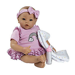 Adora® BabyTime™ Lavender Weighted Baby Girl Doll