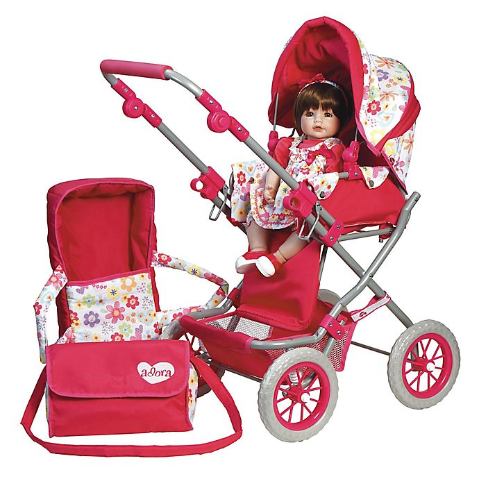 Alternate image 1 for Adora® Doll Accessories Deluxe Stroller