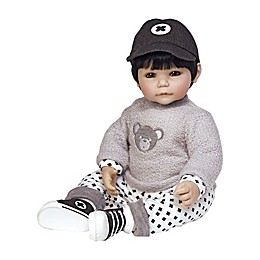 Adora® ToddlerTime Bubba Bear Boy Doll with Black Hair