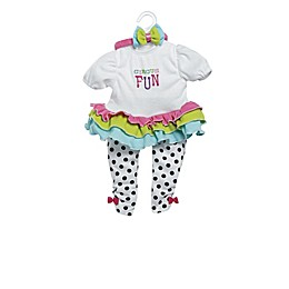 Adora® ToddlerTime Pandarrific Play Doll Outfit