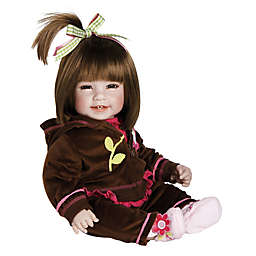 Adora® Workout Chic Weighted Baby Girl Doll with Brown Hair