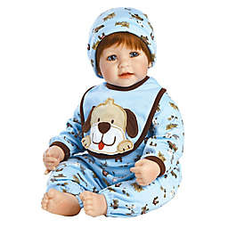 Adora® Woof! Weighted Baby Boy Doll with Red Hair