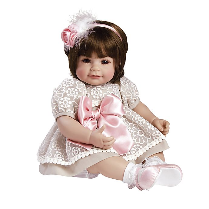 Alternate image 1 for Adora® ToddlerTime Enchanted Baby Girl Doll with Brown Hair