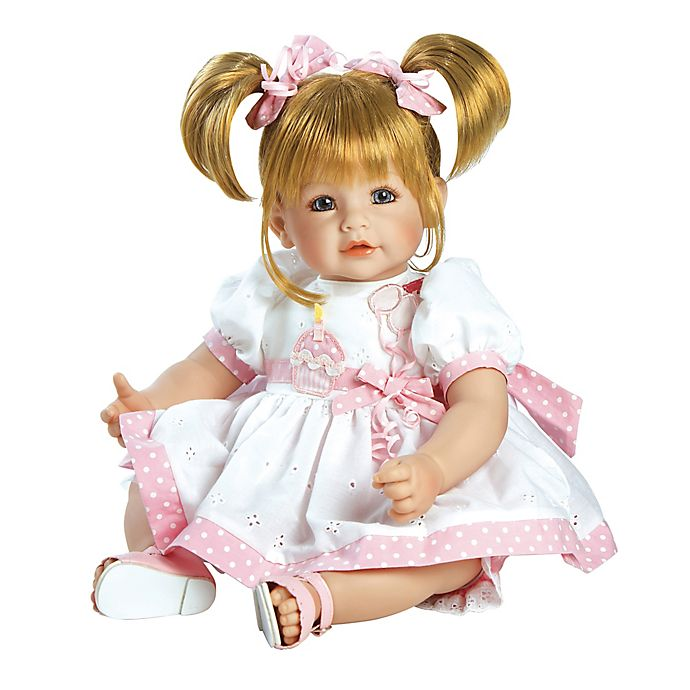 Alternate image 1 for Adora® ToddlerTime Happy Birthday Doll with Blonde Hair