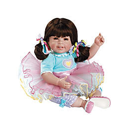 Adora® Sugar Rush Weighted Baby Girl Doll with Brown Hair