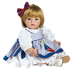 Adora® ToddlerTime Pin-A-Four Season Baby Girl Doll with Blonde Hair