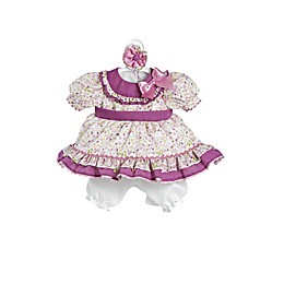 Adora® ToddlerTime Baby Flora Embroidered Play Doll Outfit