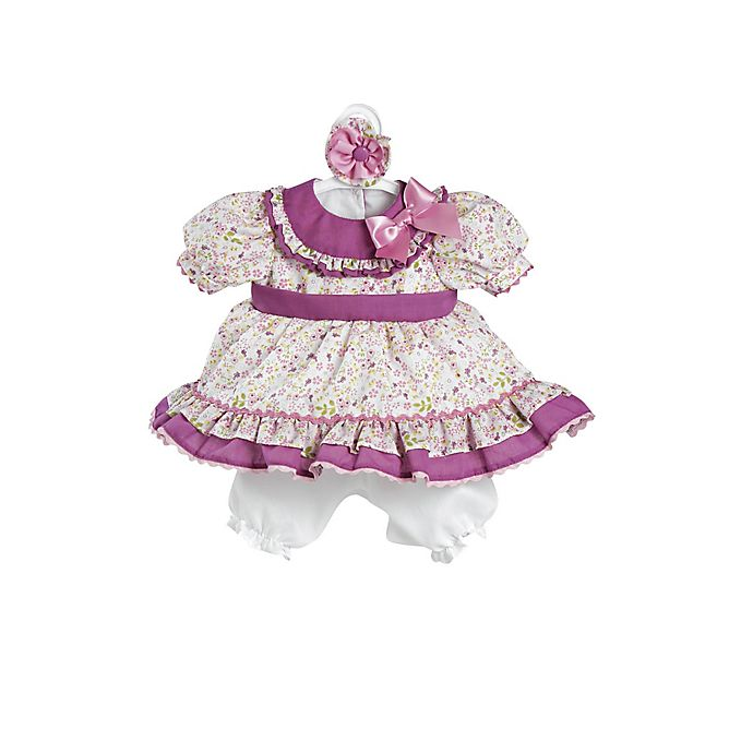 Alternate image 1 for Adora® ToddlerTime Baby Flora Embroidered Play Doll Outfit
