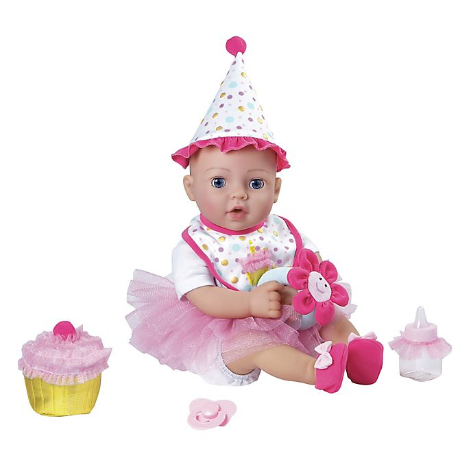 Alternate image 1 for Adora® 14-Piece Birthday Baby Gift Set