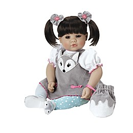 Adora® ToddlerTime Baby Silver Fox Doll with Brown Hair