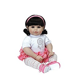 Adora® ToddlerTime Baby Free Spirit with Brown Hair