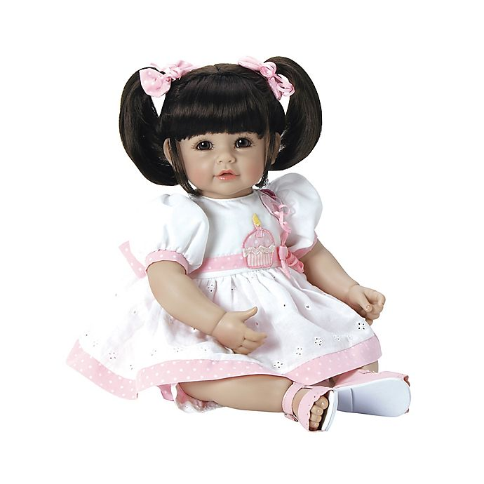 Alternate image 1 for Adora® ToddlerTime Baby Let's Celebrate Doll with Brown Hair