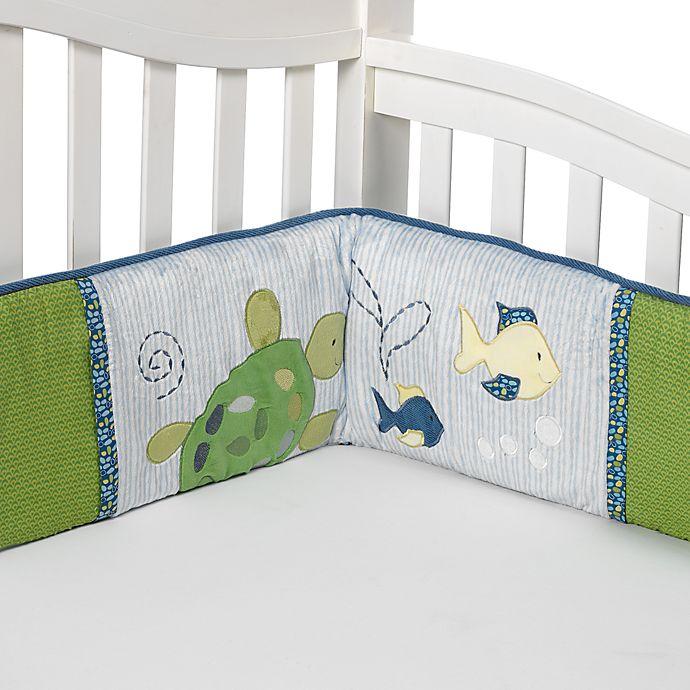 Cocalo Baby 174 Turtle Reef 4 Piece Crib Bumper Set Bed