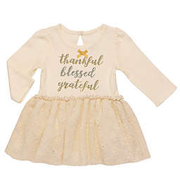 Baby Starters® Holiday Dress with Attached Bodysuit in Ivory