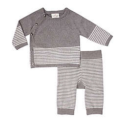 Cuddl Duds® 2-Piece Cardigan and Pants Set in Grey