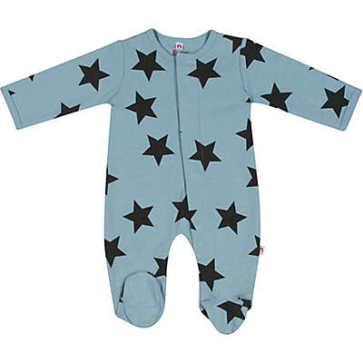 E=MC2™ Stars Print Magnetic Footie in Blue