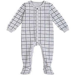 Petit Lem™ Windowpane Sleeper in Grey