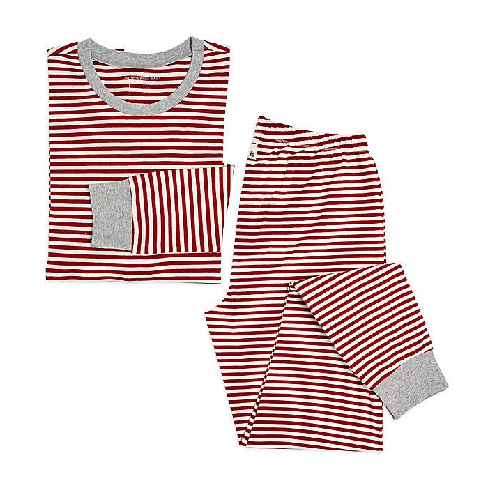 f07f8445e0 Burt s Bees Baby® Women s 2-Piece Candy Cane Stripe Holiday Pajama ...