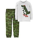 carter's® 3M 2-Piece Dino Top and Pants Set