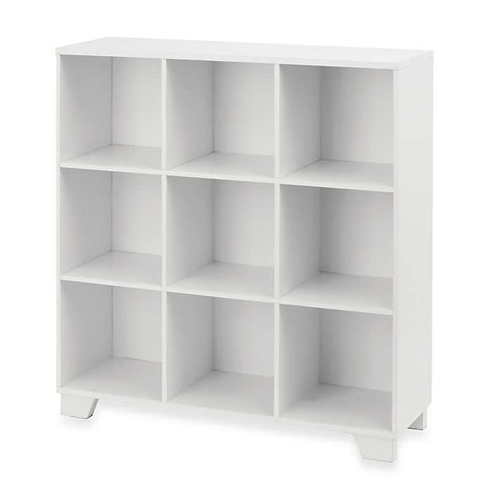 Alternate image 1 for Real Simple® 9-Cube Storage Unit in White