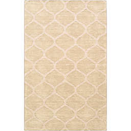 Surya Mystique 5' x 8' Area Rug in Champagne
