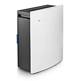 Blueair Classic 205 HEPA Silent Air Purifier 279 Sq. Ft. Allergies WiFi Enabled White