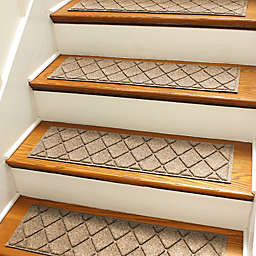 Weather Guard Trade Argyle 8 5 Inch X 30 Stair Treads Set Of