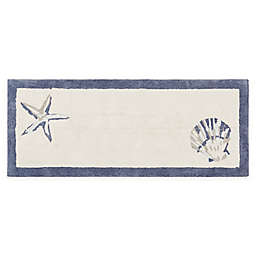 Madison Park Bayside 24-Inch x 60-Inch Cotton Tufted Rug in Blue