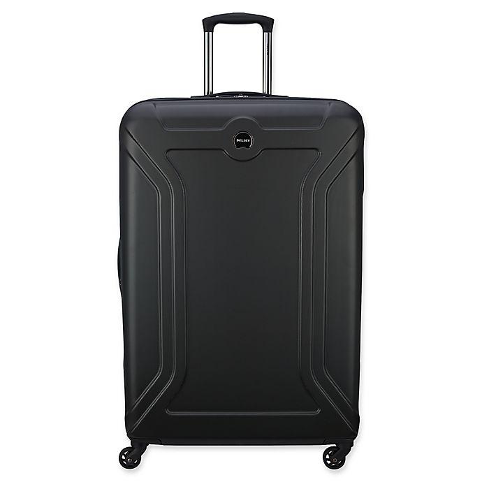 Alternate image 1 for DELSEY PARIS Amplitude 28-Inch Hardside Spinner Checked Luggage in Black