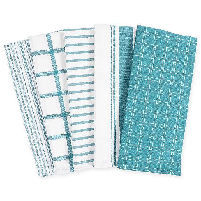Kaf Home Kitchen Towels Set Of 5 Bed Bath Beyond