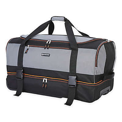 Traveler's Club® XPedition™ 30-Inch Rolling Drop-Bottom Duffle Bag