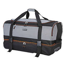 Traveler s Club® XPedition™ 30-Inch Rolling Drop-Bottom Duffle Bag 83f22504240b5