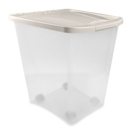 Van Ness 50 Pound Pet Food Container Bed Bath Amp Beyond