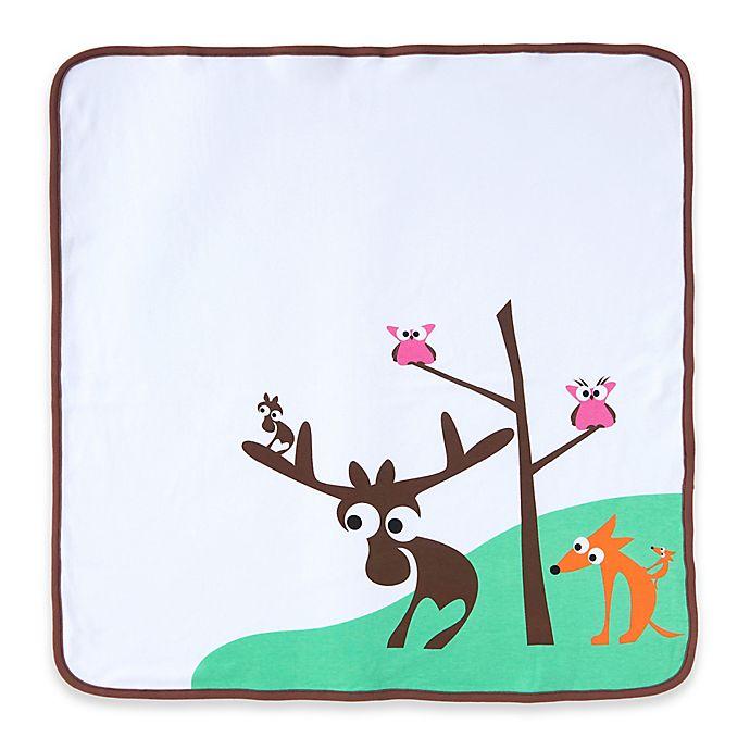 Alternate image 1 for Eggkids® Organic Cotton Double-Layer Blanket