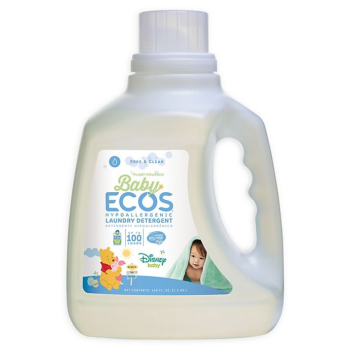 Alternate image 1 for Baby ECOS Free & Clear Disney® 100-Ounce Laundry Detergent