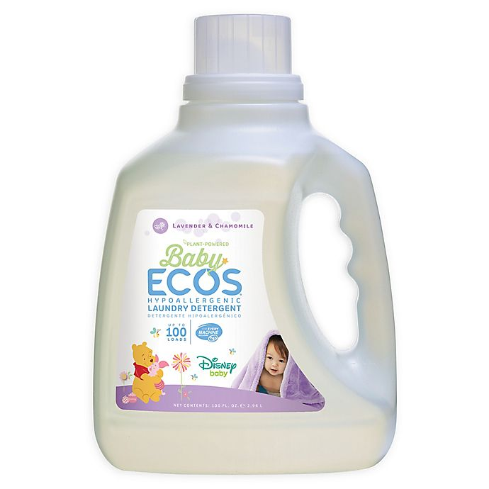 Alternate image 1 for Baby ECOS Chamomile & Lavender 100-Ounce Disney® Laundry Detergent