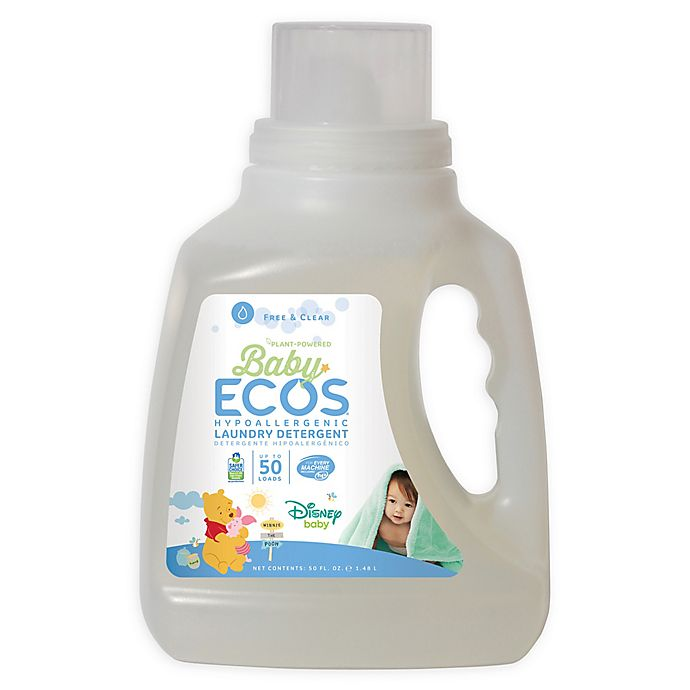 Alternate image 1 for Disney Baby® Baby ECOS® Free & Clear 50-Ounce Laundry Detergent