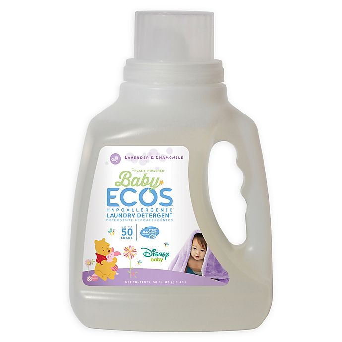 Alternate image 1 for Disney Baby® Baby ECOS® Chamomile & Lavender 50-Ounce Laundry Detergent