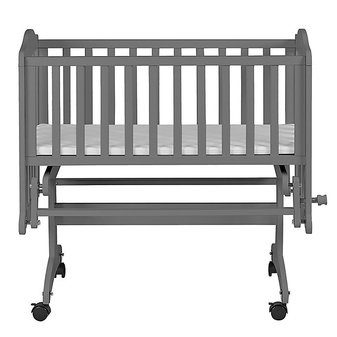 Alternate image 1 for Dream on Me Lullaby Cradle Glider in Storm Grey