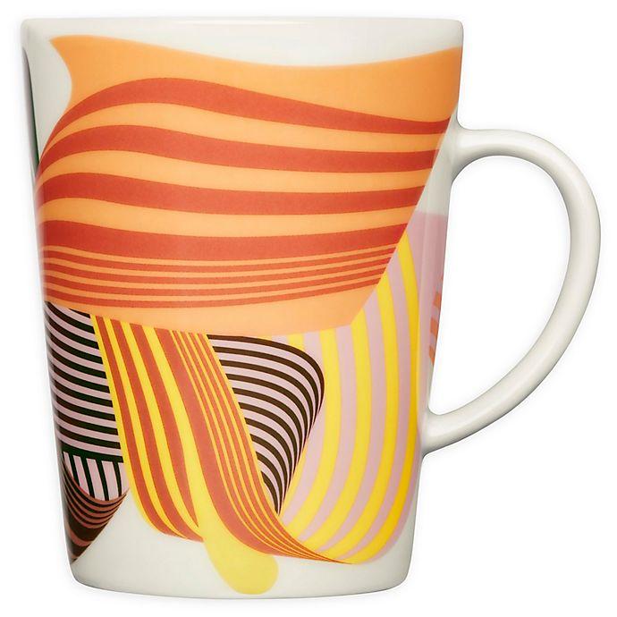 Alternate image 1 for Iittala Graphics Multicolor Solid Waves Mug
